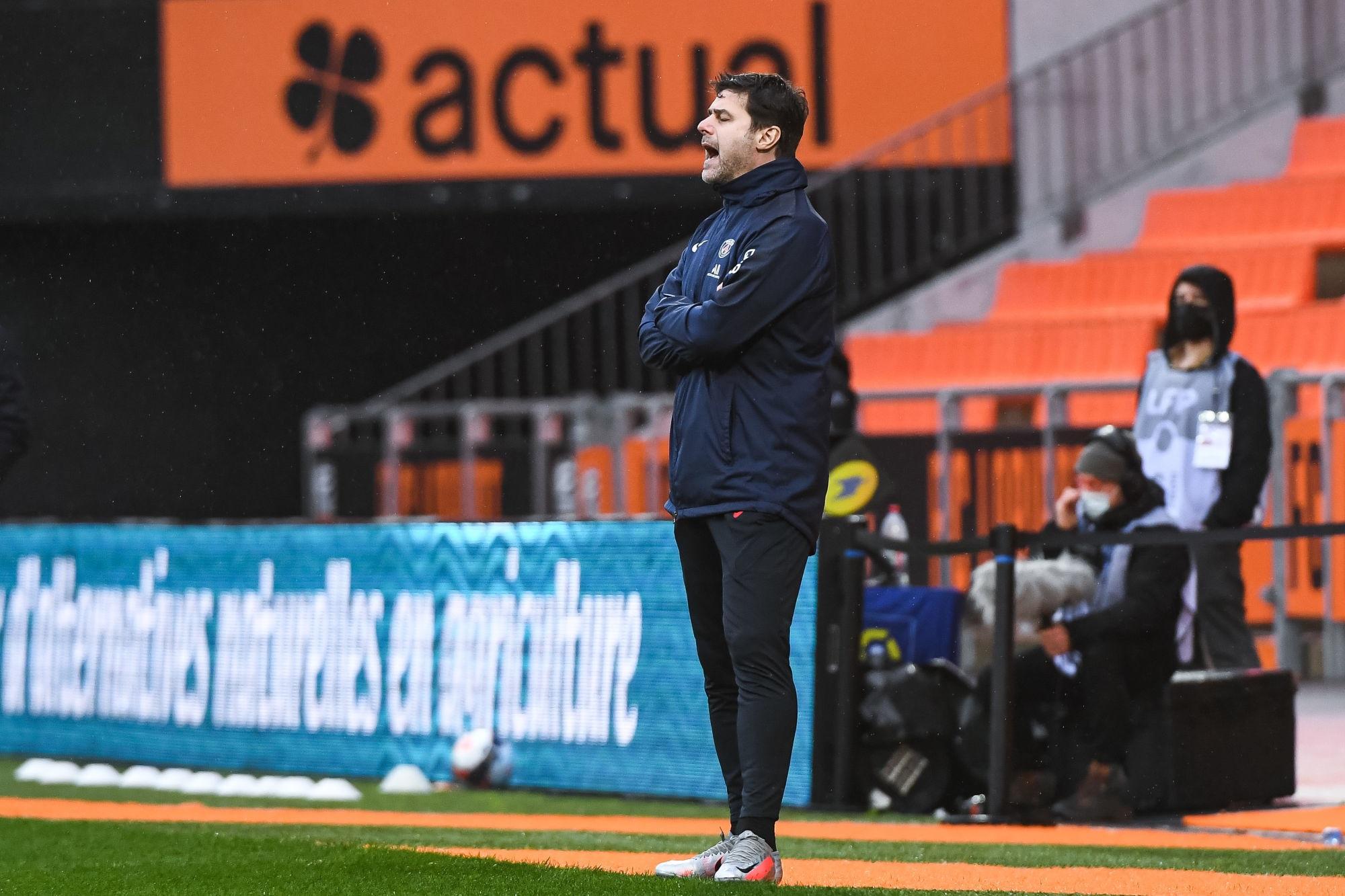"""Lorient/PSG - Pochettino """"nous avons besoin d'augmenter notre rythme, notre niveau"""""""