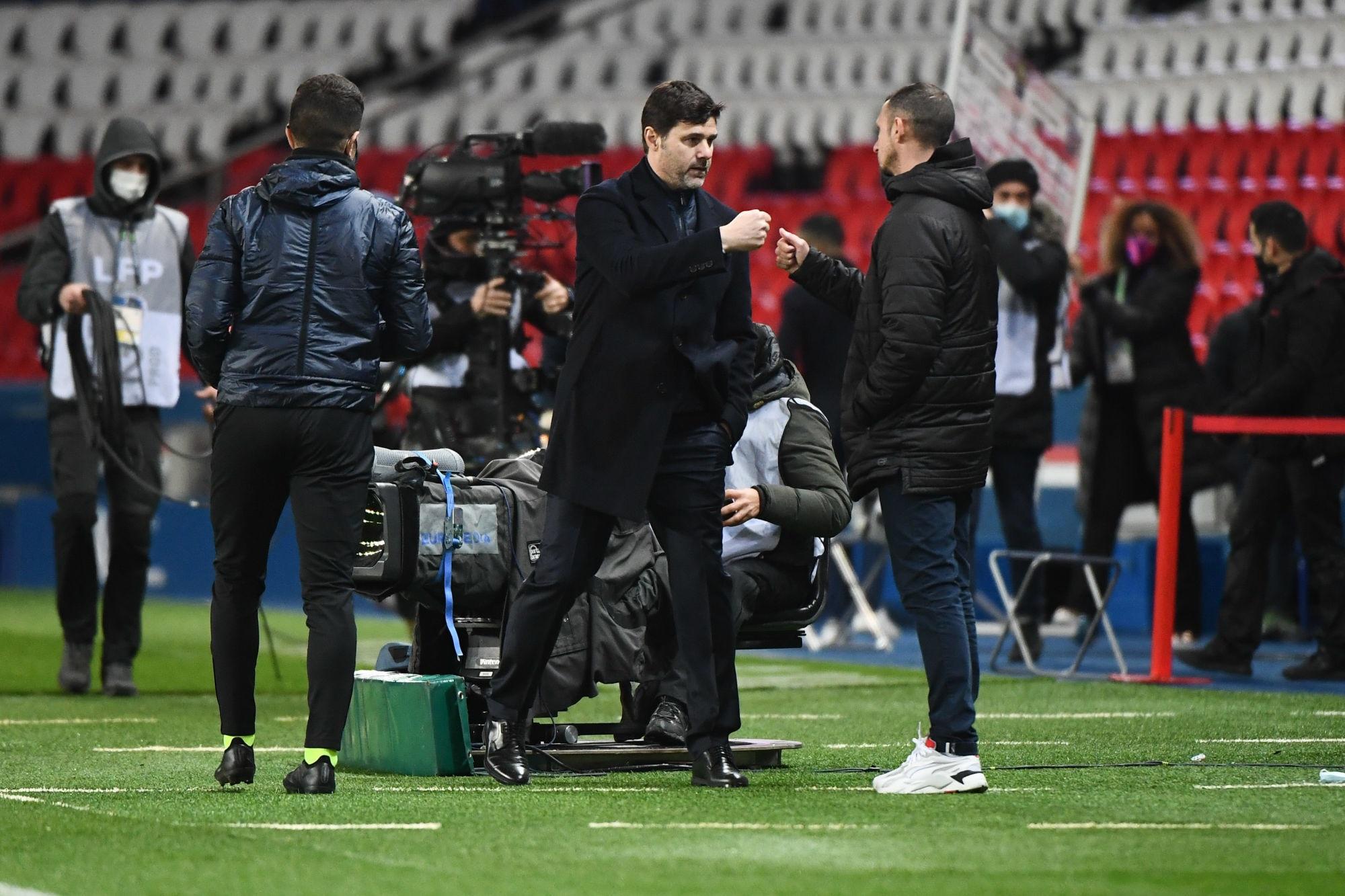 "PSG/Nîmes - Pochettino évoque la concurrence ""On va se battre jusqu'au bout"""