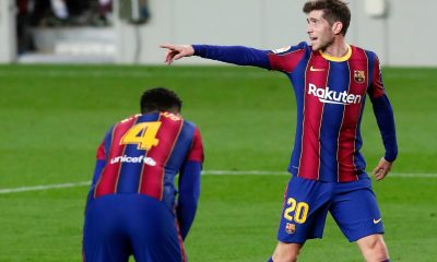 LDC - Sergi Roberto sera bien forfait pour Barça/PSG