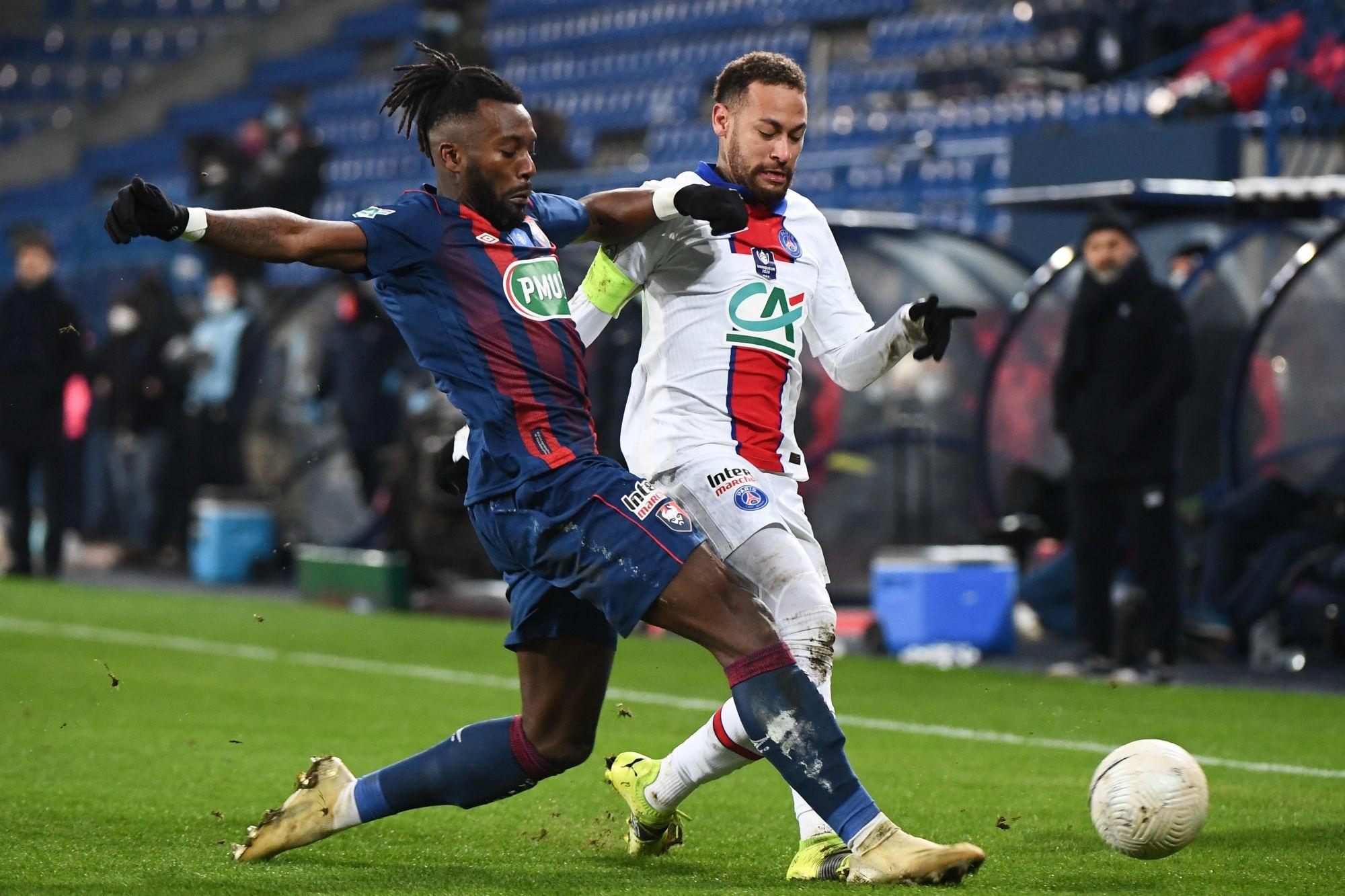Le SM Caen soutient Neymar et Yago après la blessure du Brésilien