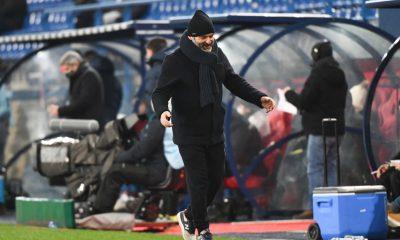 """Caen/PSG - Dupraz se plaint encore de l'arbitrage et souligne """"un beau visage"""" de son équipe"""