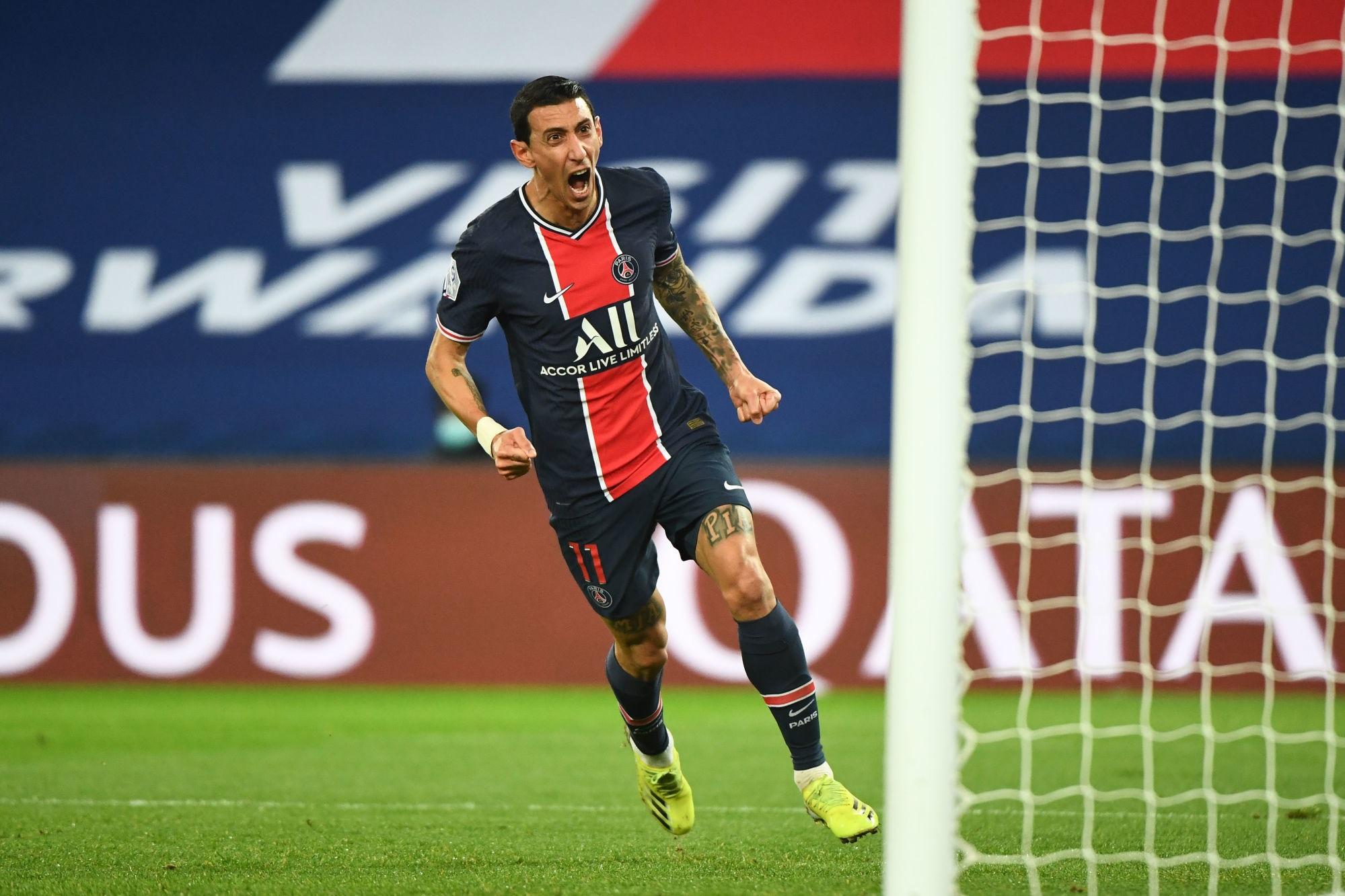 PSG/Nîmes - Di Maria élu joueur du match par les supporters parisiens