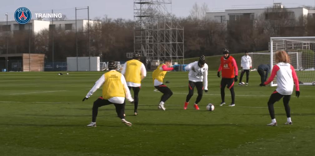 PSG/Nice - Retrouvez des extraits du dernier entraînement avant le match