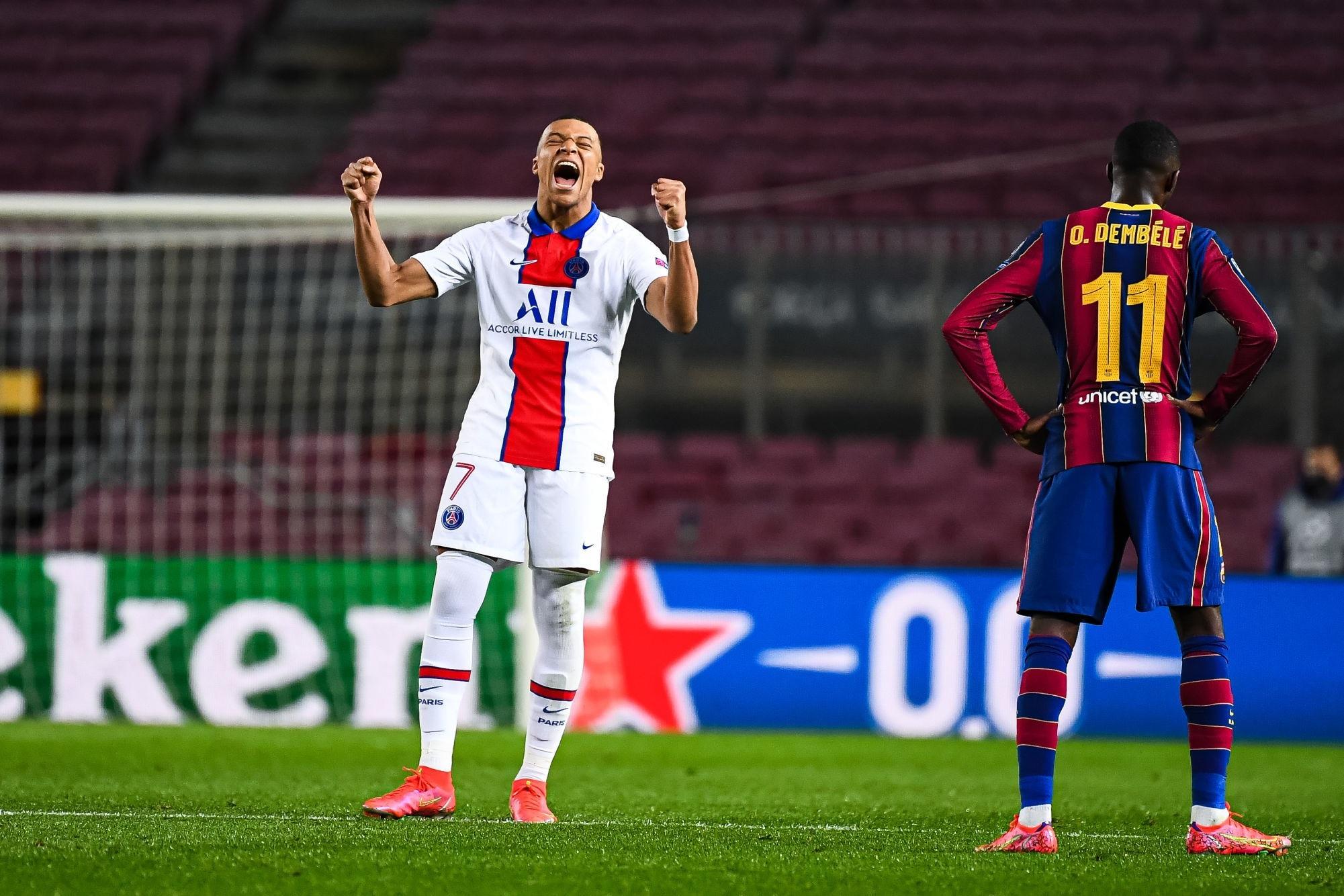Barcelone/PSG - Les notes des Parisiens : un beau collectif, un très grand Mbappé