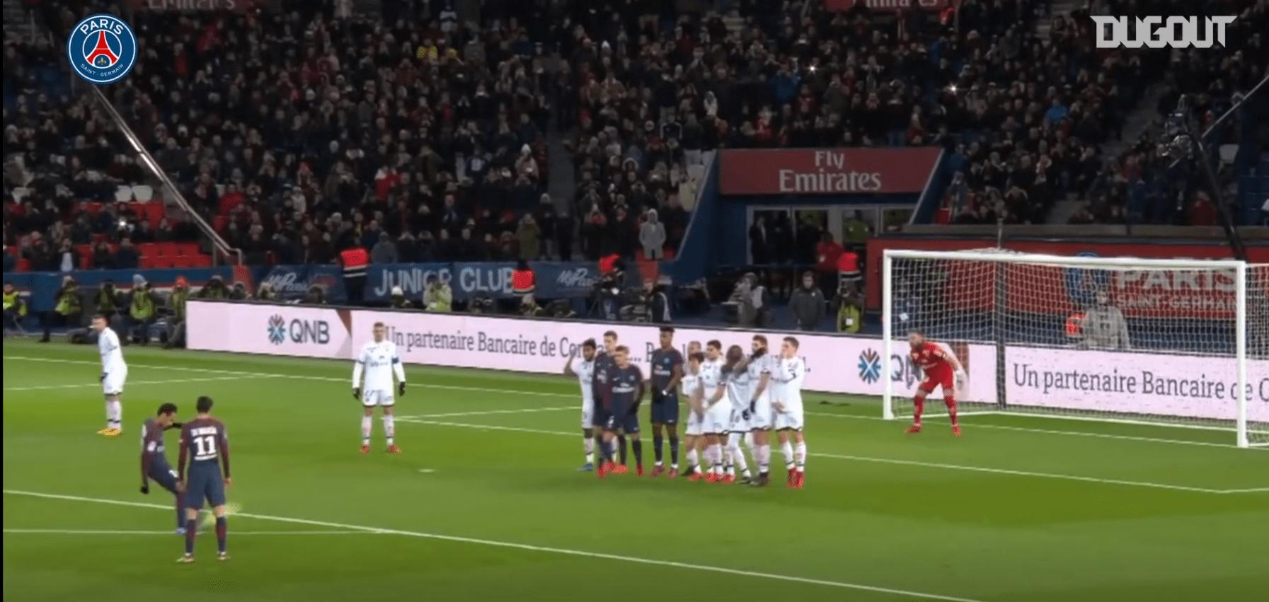 Dijon/PSG - Retrouvez les 5 plus beaux buts parisiens face aux Dijonnais