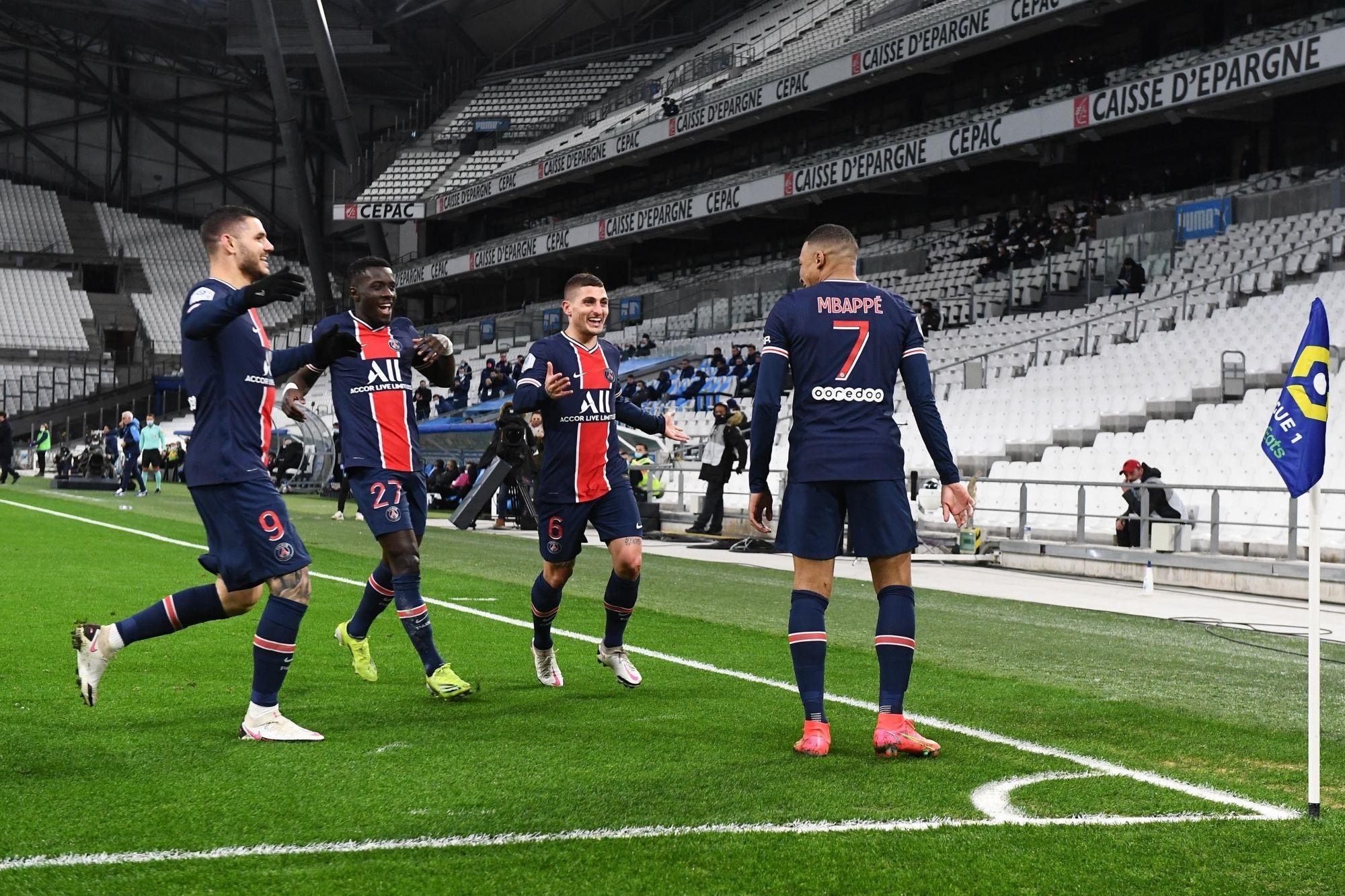 Résumé OM/PSG (0-2) - La vidéo des buts et des temps forts du match