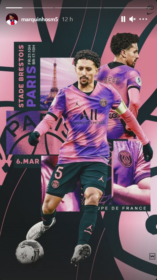 Les images du PSG ce samedi: Victoire et qualif face à Brest
