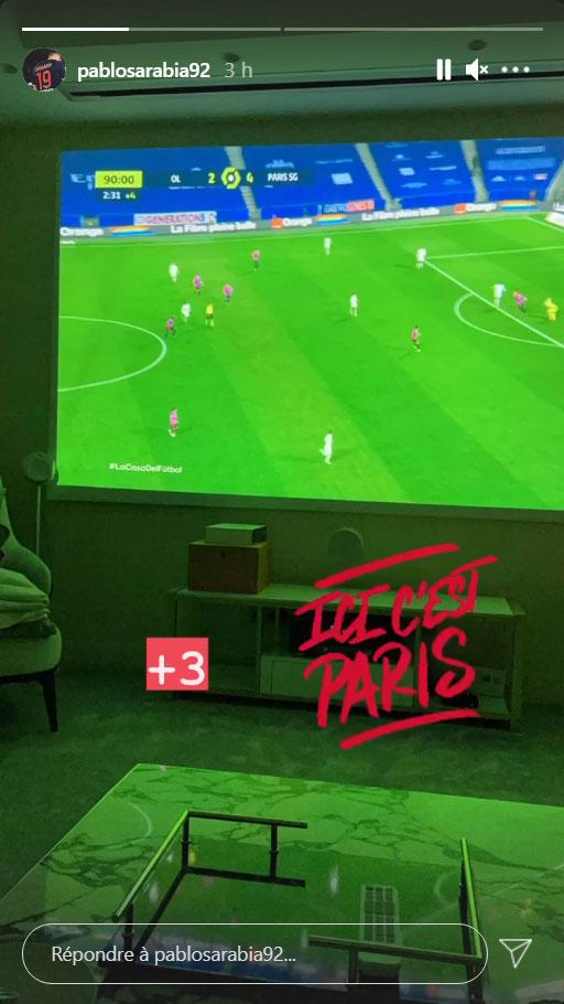 Les images du PSG ce dimanche: La première place pour Paris!