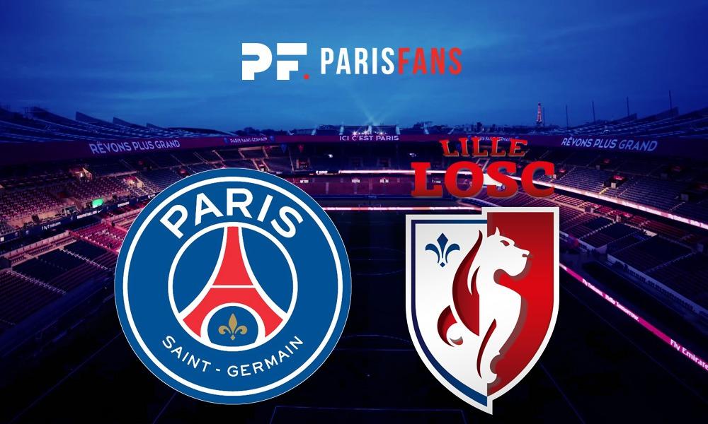 PSG/Lille - Les équipes officielles : Mbappé sur le banc, Di Maria et Kean titulaires