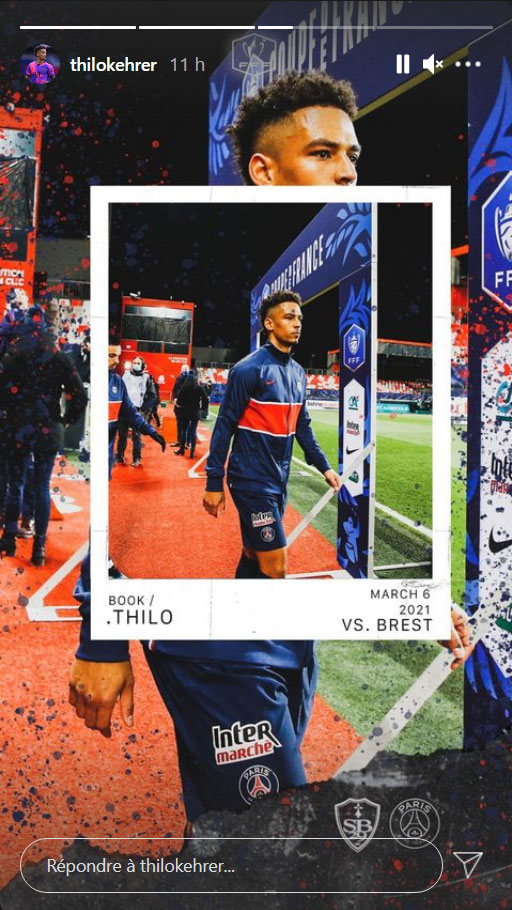 Les images du PSG ce dimanche: décrassage, Brest/Paris et repos