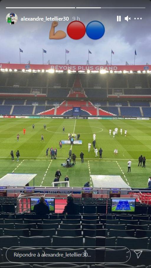 Les images du PSG ce mercredi: retour sur PSG/Lille et soutien des Ultras