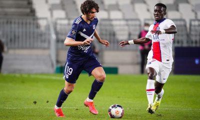 """Bordeaux/PSG - Adli """"Paris a démarré très fort et nous a imposé un pressing très intensif."""""""