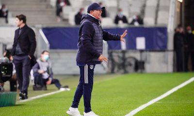 Bordeaux/PSG - Gasset regrette le résultat mais souligne les points positifs
