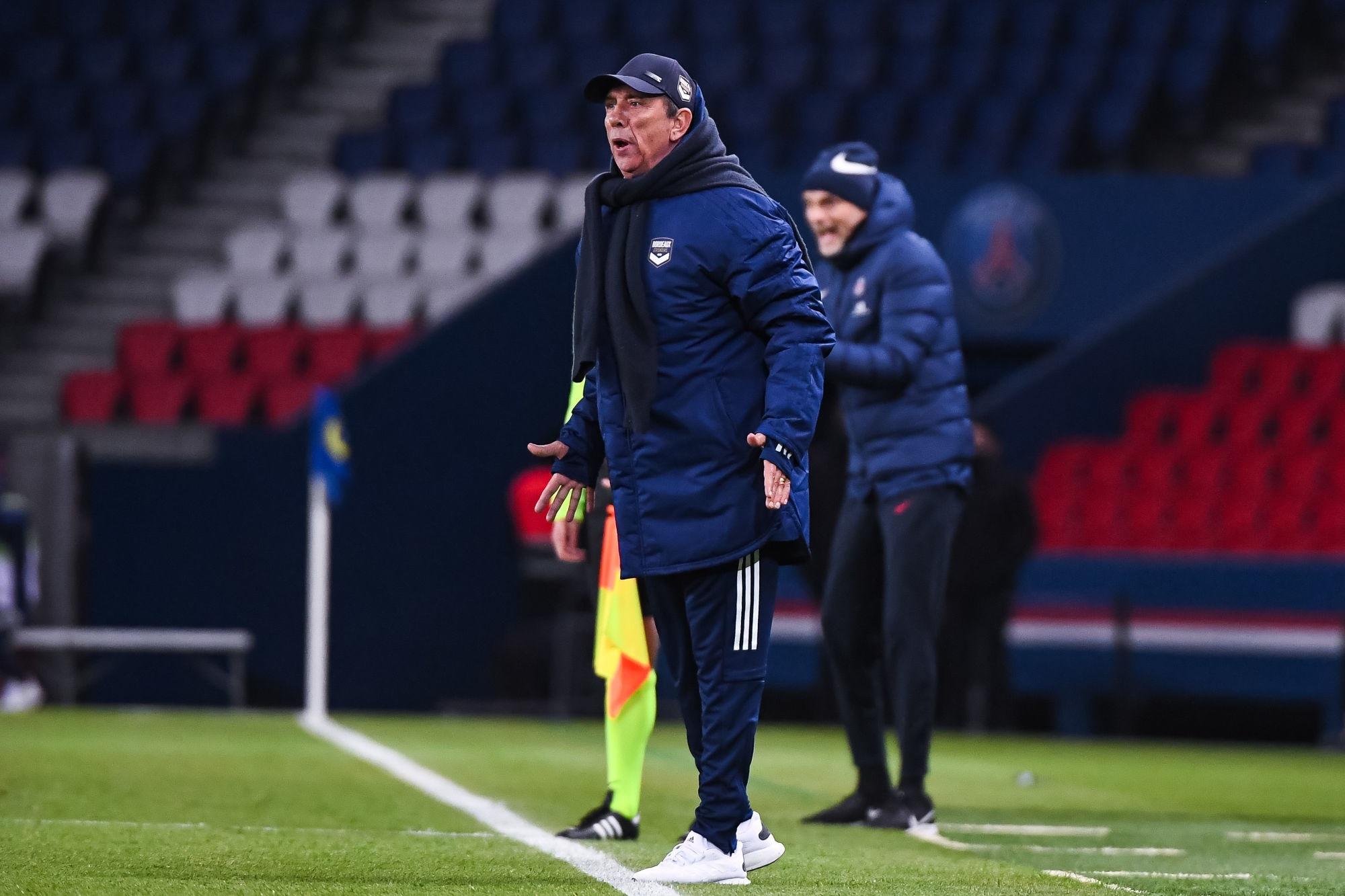 Bordeaux/PSG - Gasset voit Paris favori pour le titre et donne les clefs du match