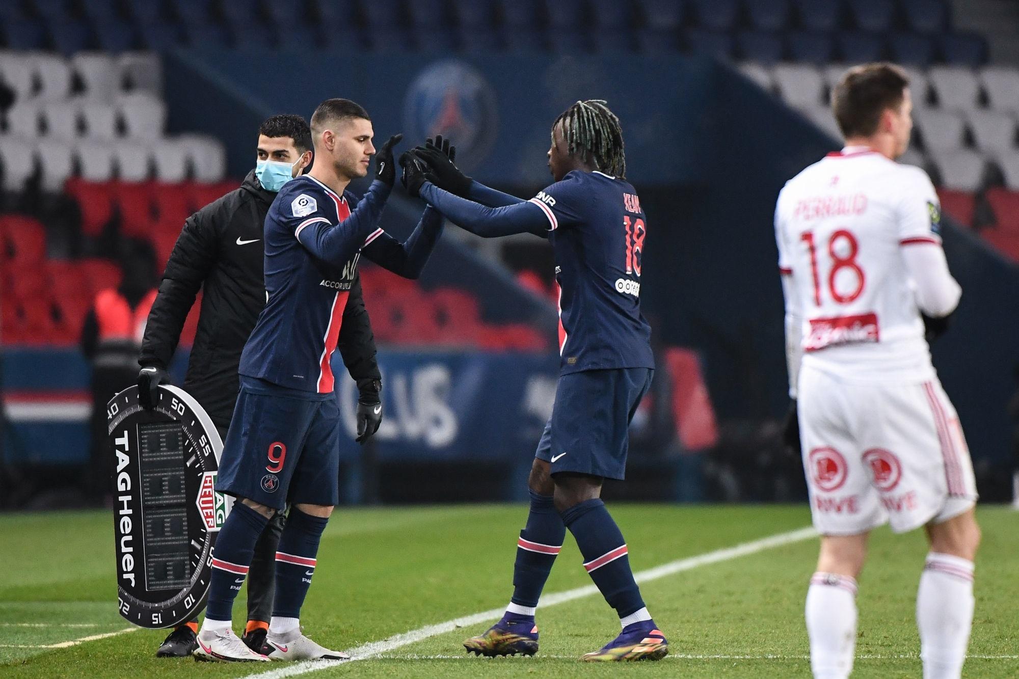 Mercato - Icardi veut rester au PSG, mais ce sera lui ou Kean d'après Sport Mediaset