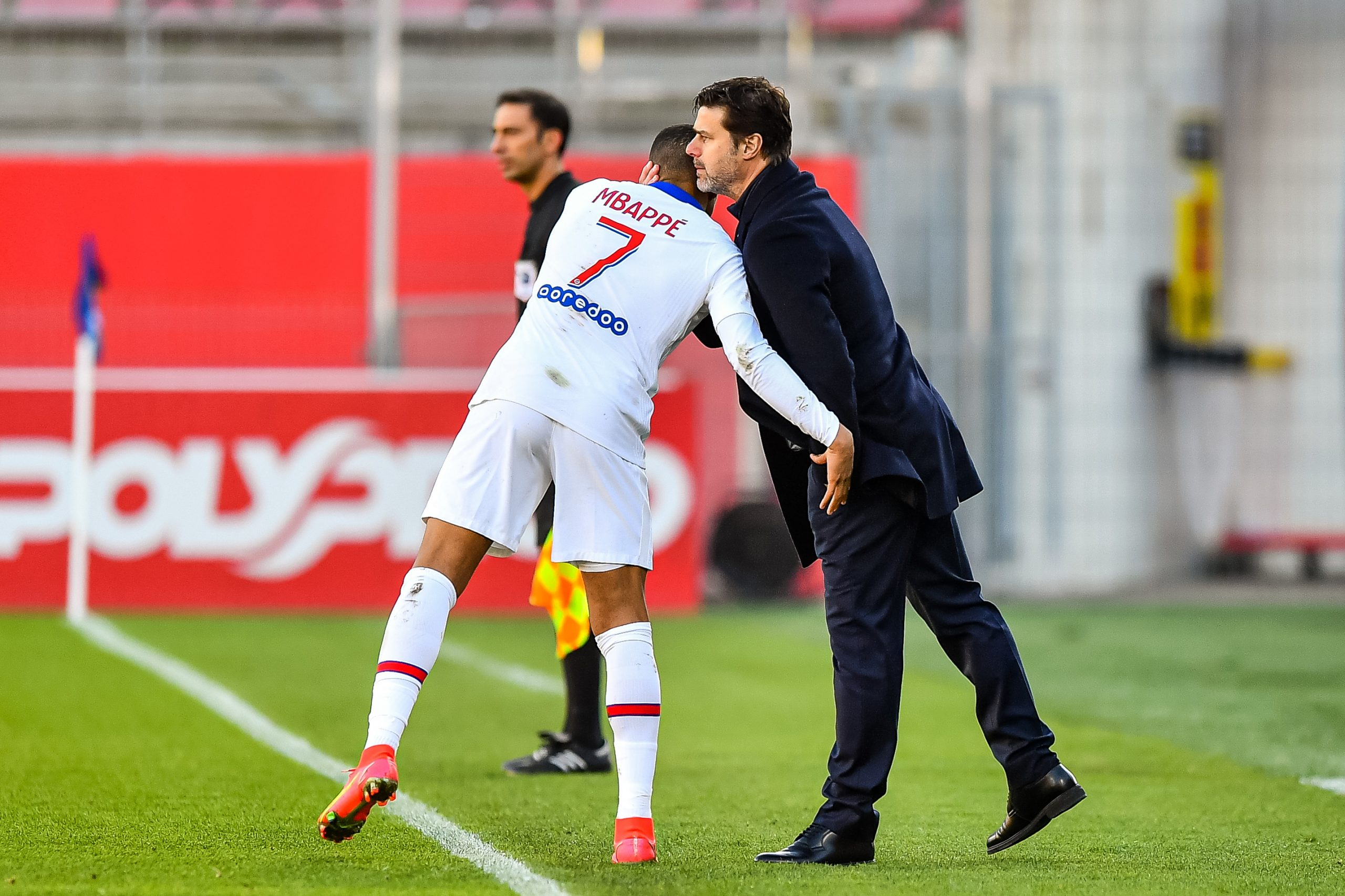 """Pochettino l'assure, Mbappé """"a le potentiel, il ne lui manque rien d'autre que le temps"""""""
