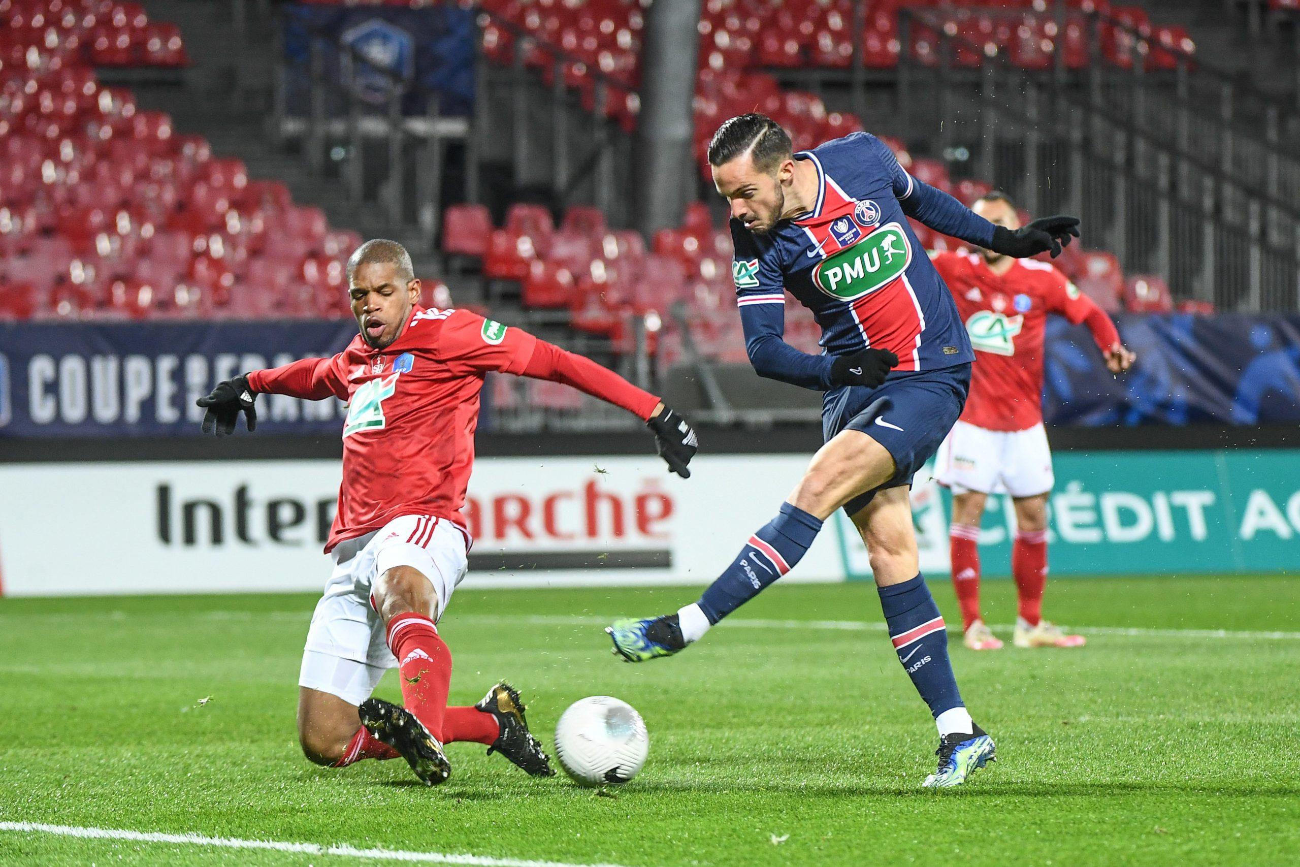 """Brest/PSG - Baal souligne """"C'est clair que l'on est tombé sur une belle équipe"""""""