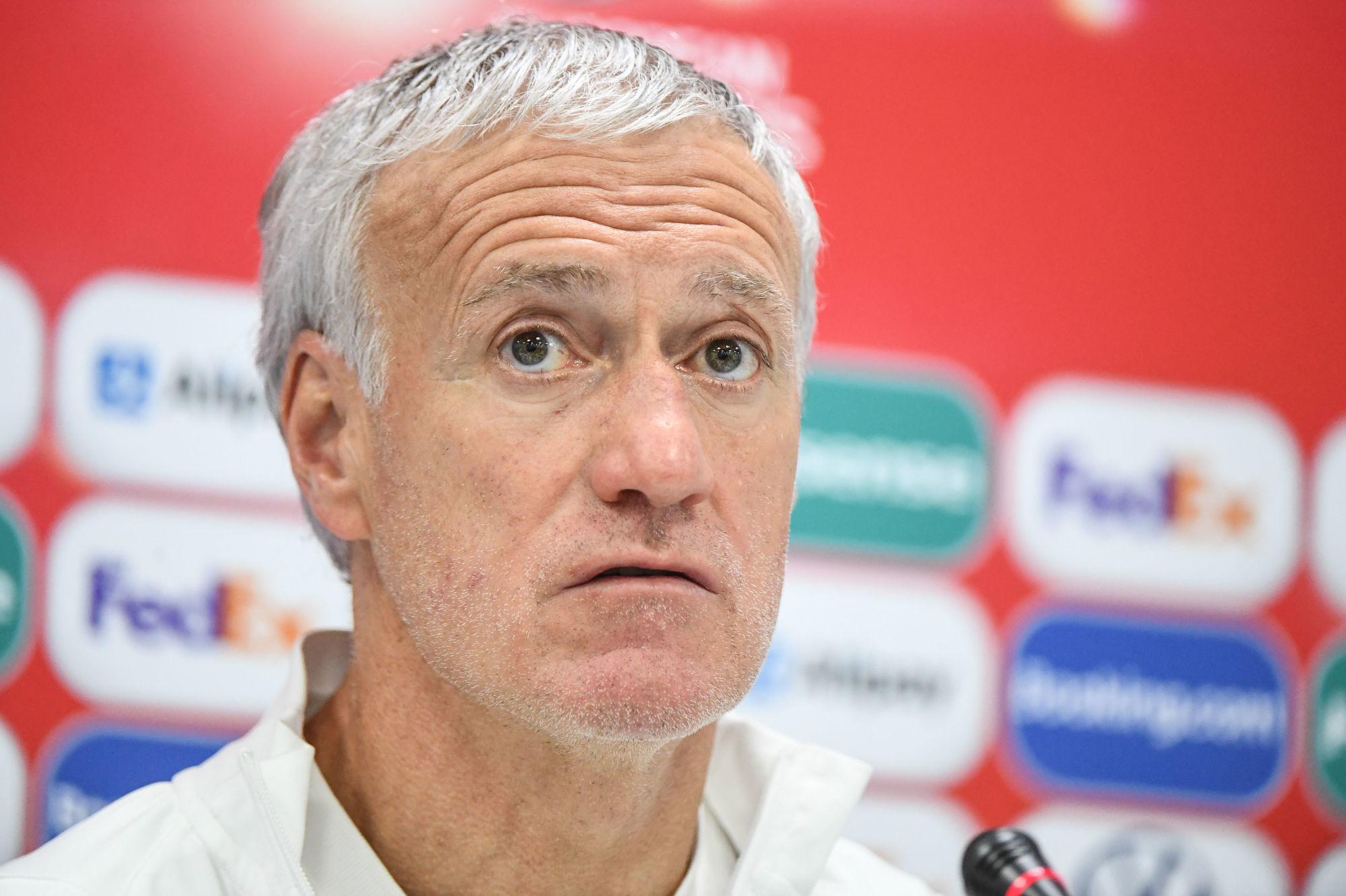 """Deschamps évoque les mauvais matchs de Mbappé """"Je ne le sens pas du tout affecté"""""""