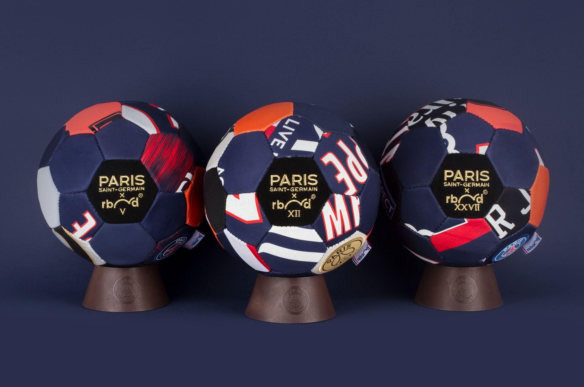 Le PSG sort un nouvel élément dans sa collection Limited : un ballon en 50 exemplaires