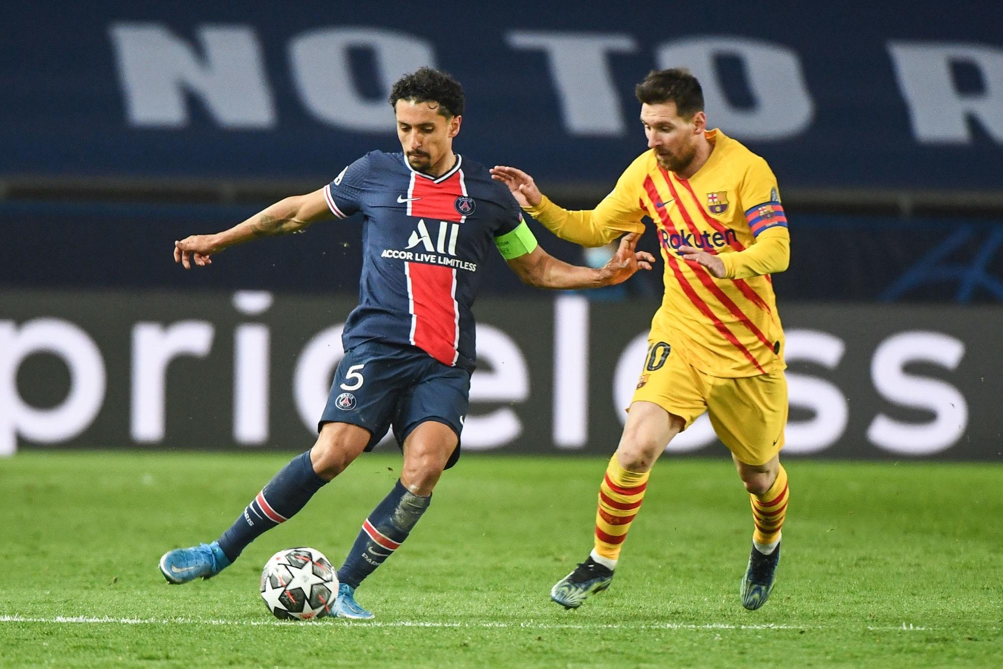 Messi est le joueur le plus performant en 2021 en Europe, Marquinhos le meilleur au PSG