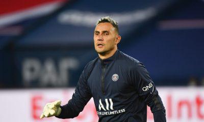PSG/Nantes - Navas élu meilleur joueur par les supporters parisiens