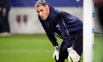 Bordeaux/PSG - Navas élu joueur du match par les supporters parisiens