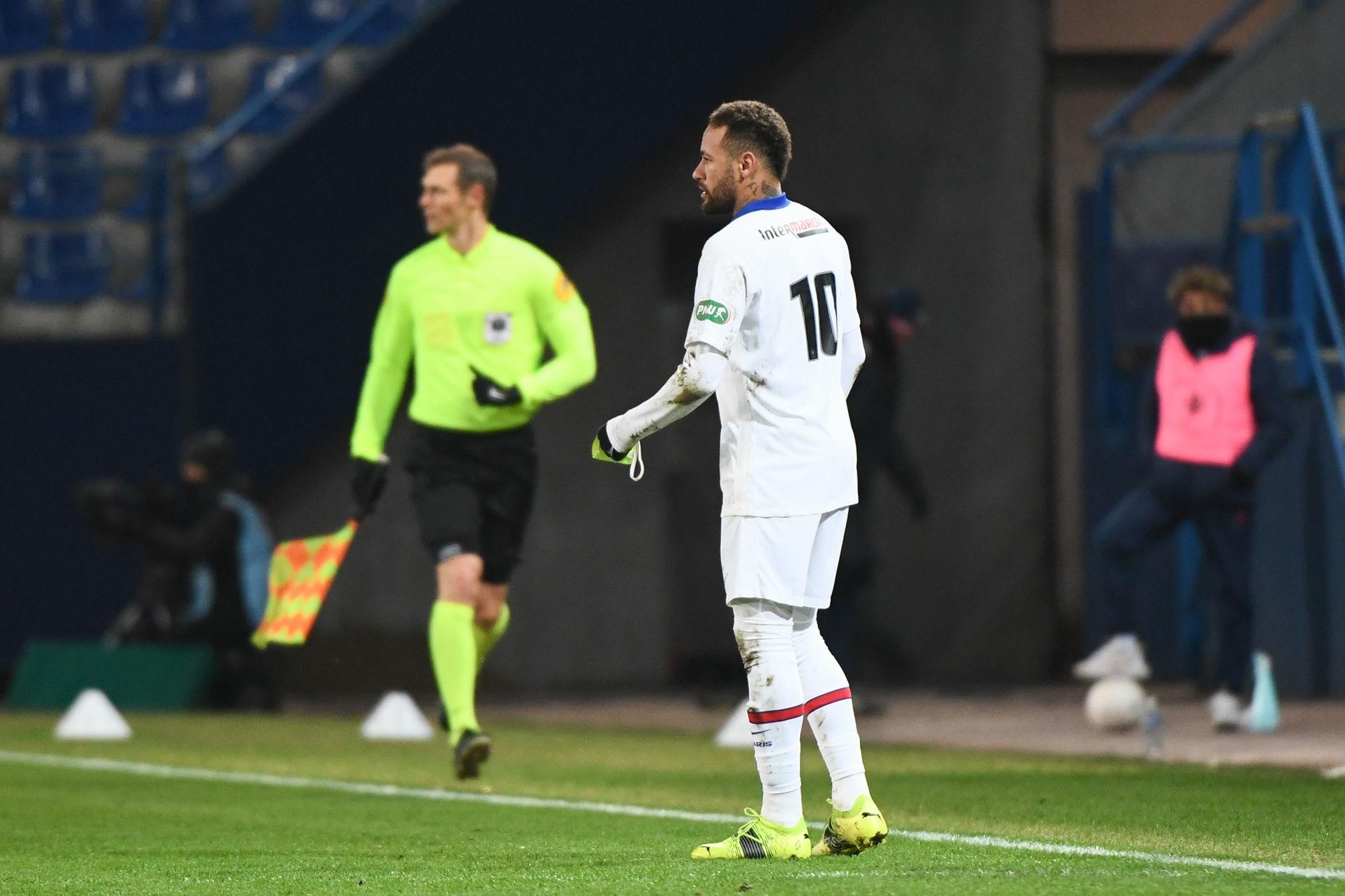 Neymar ne fait pas une «rechute», mais a «encore quelques gènes» précise RMC Sport