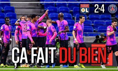Podcast PSG - Paris a mangé Lyon, un beau collectif prend la 1ere place