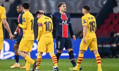 """PSG/Barcelone - Paredes est satisfait """"nous avons joué le match que nous devions faire."""""""