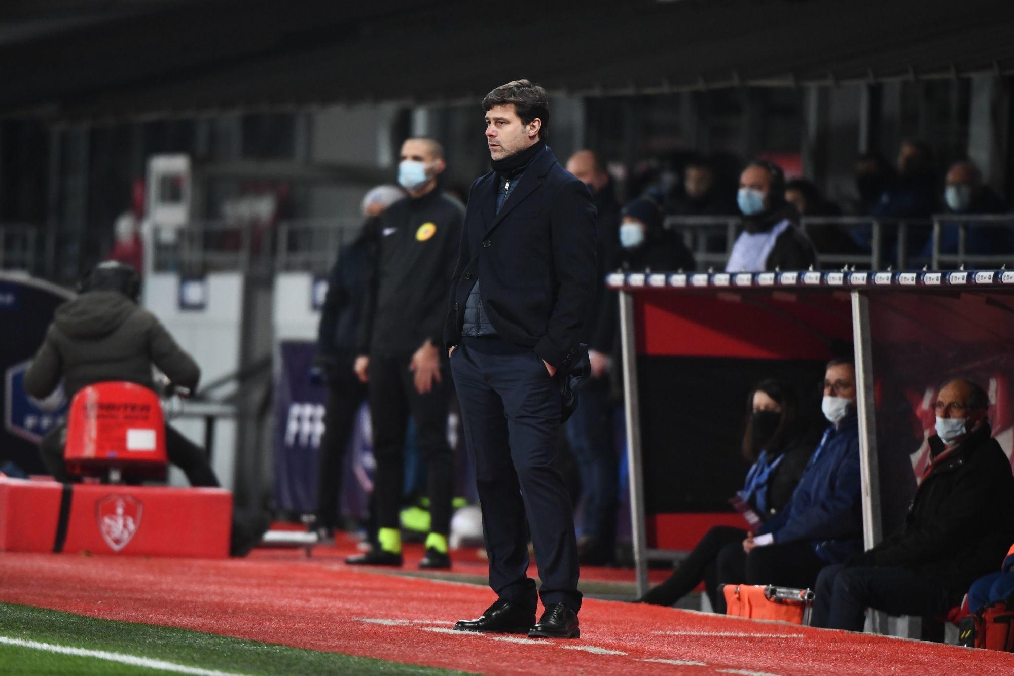Brest/PSG - Pochettino évoque sa joie, la progression, Barcelone et Kehrer