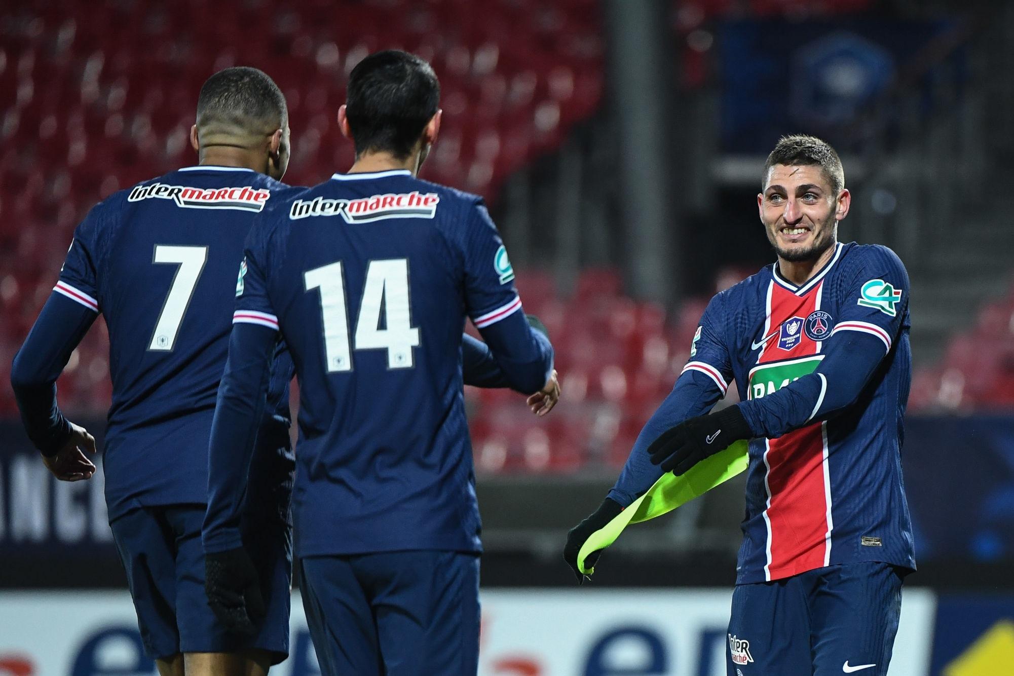 """Brest/PSG - Verratti évoque la victoire et se dit """"amoureux de ce club"""""""