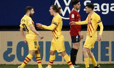 LDC - Le Barça s'impose à Osasuna avant PSG/Barcelone