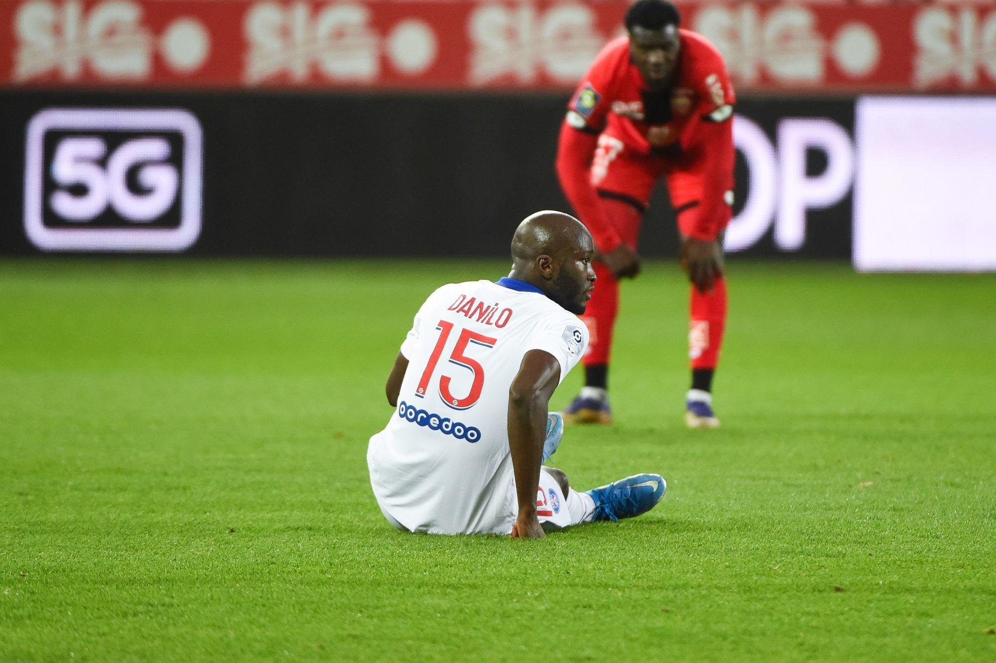 Danilo a pris un coup au tibia, un point fait ce lundi selon L'Equipe