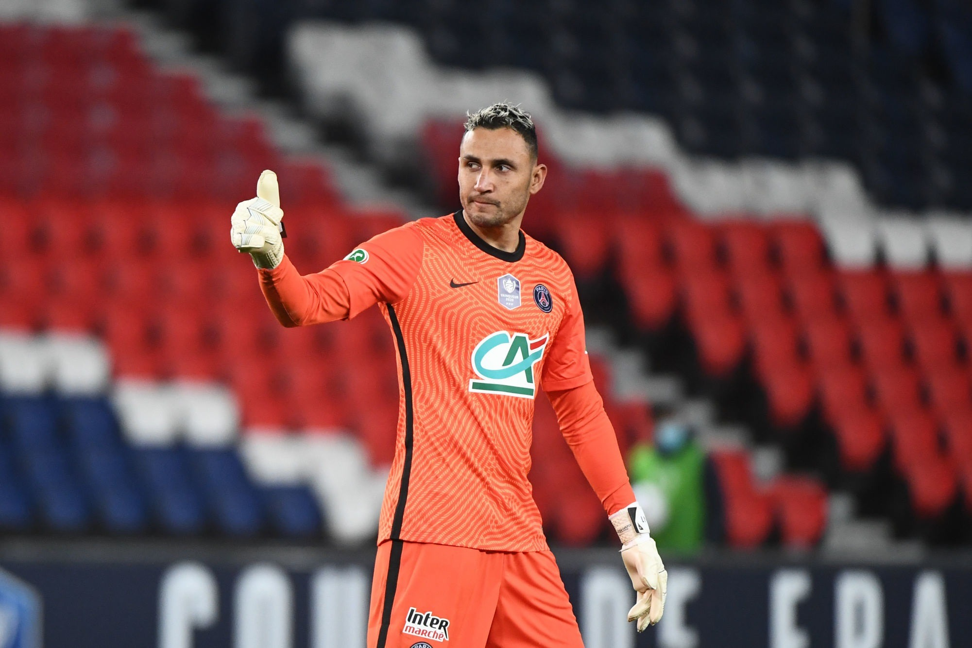 PSG/Lille - Navas encore élu meilleur joueur par les supporters parisiens
