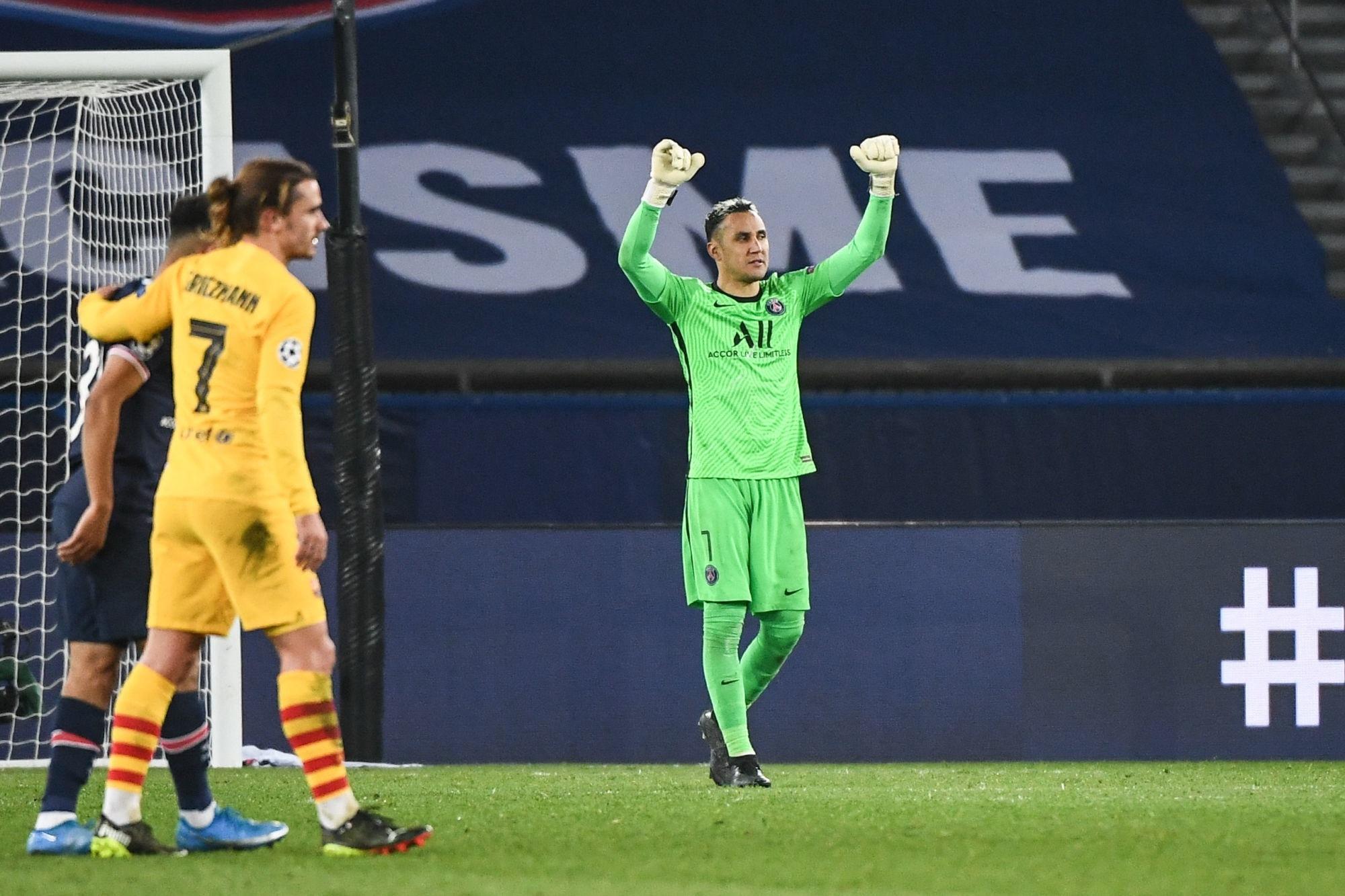 PSG/Barcelone - Navas élu meilleur joueur avec presque tous les votes des supporters parisiens