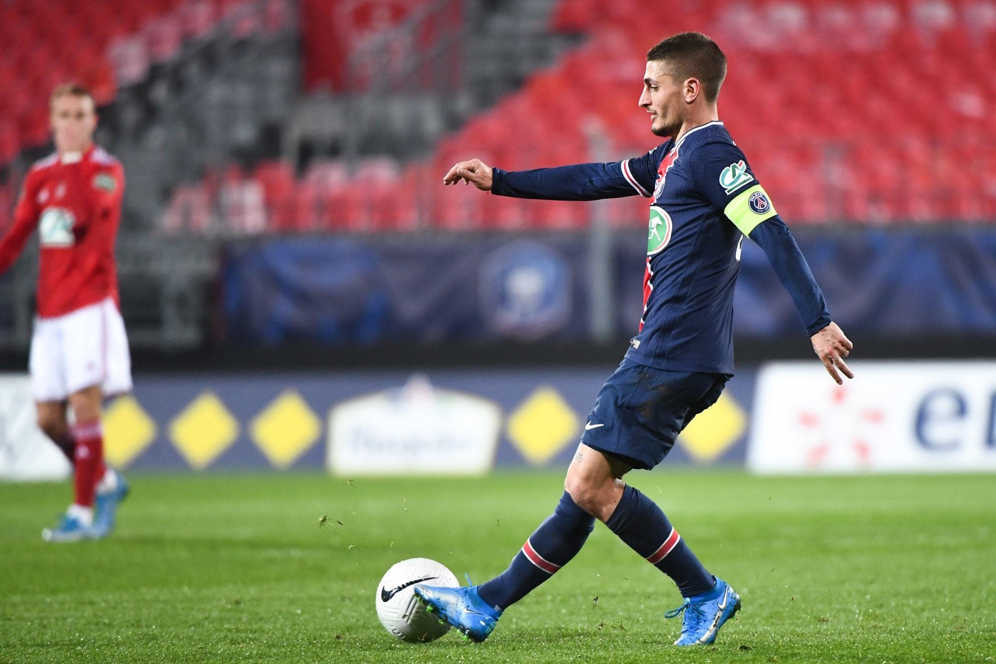 Brest/PSG - Verratti élu meilleur joueur parisien par les supporters