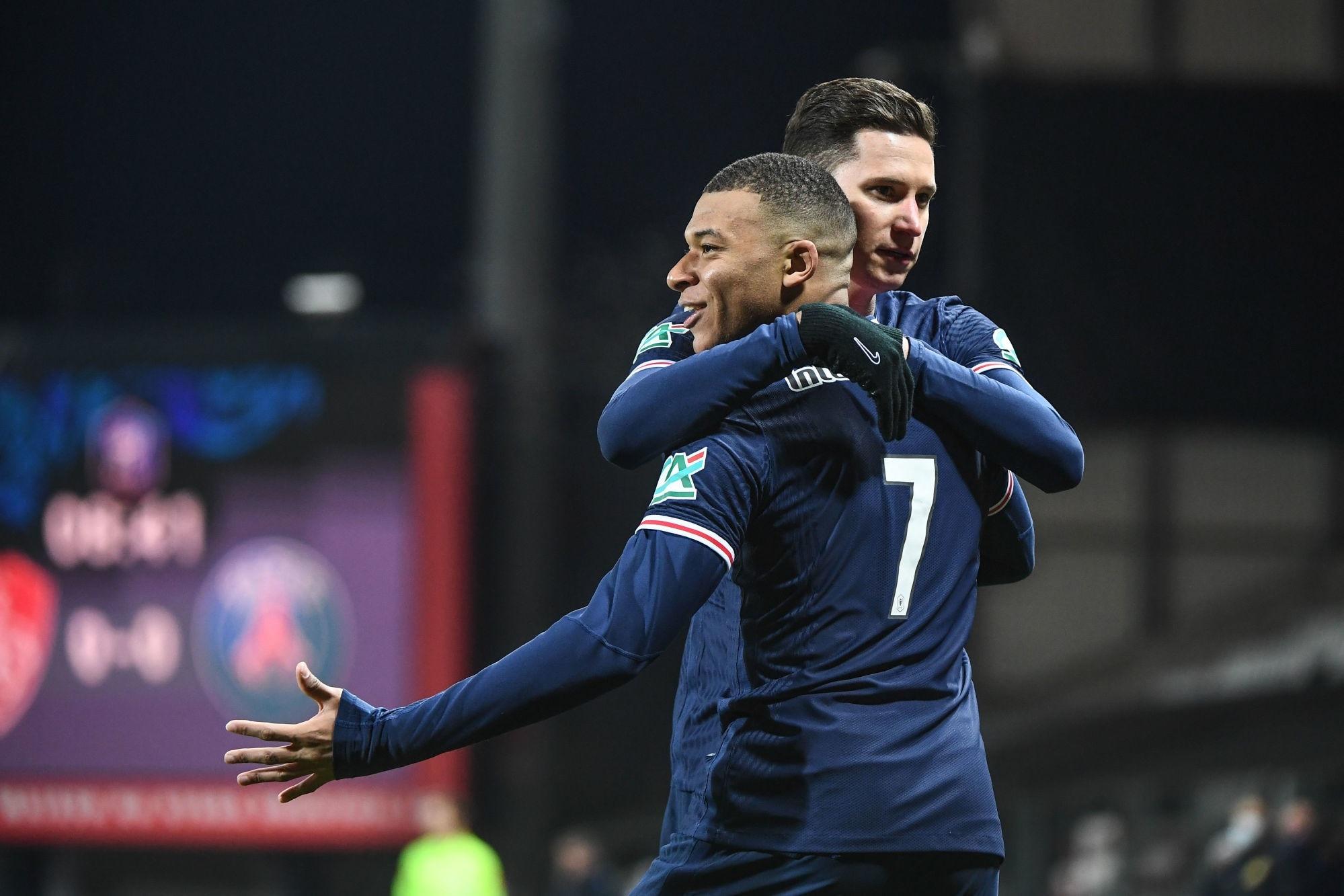 Brest/PSG - Les notes des Parisiens dans la presse : bonne équipe et Mbappé joueur du match