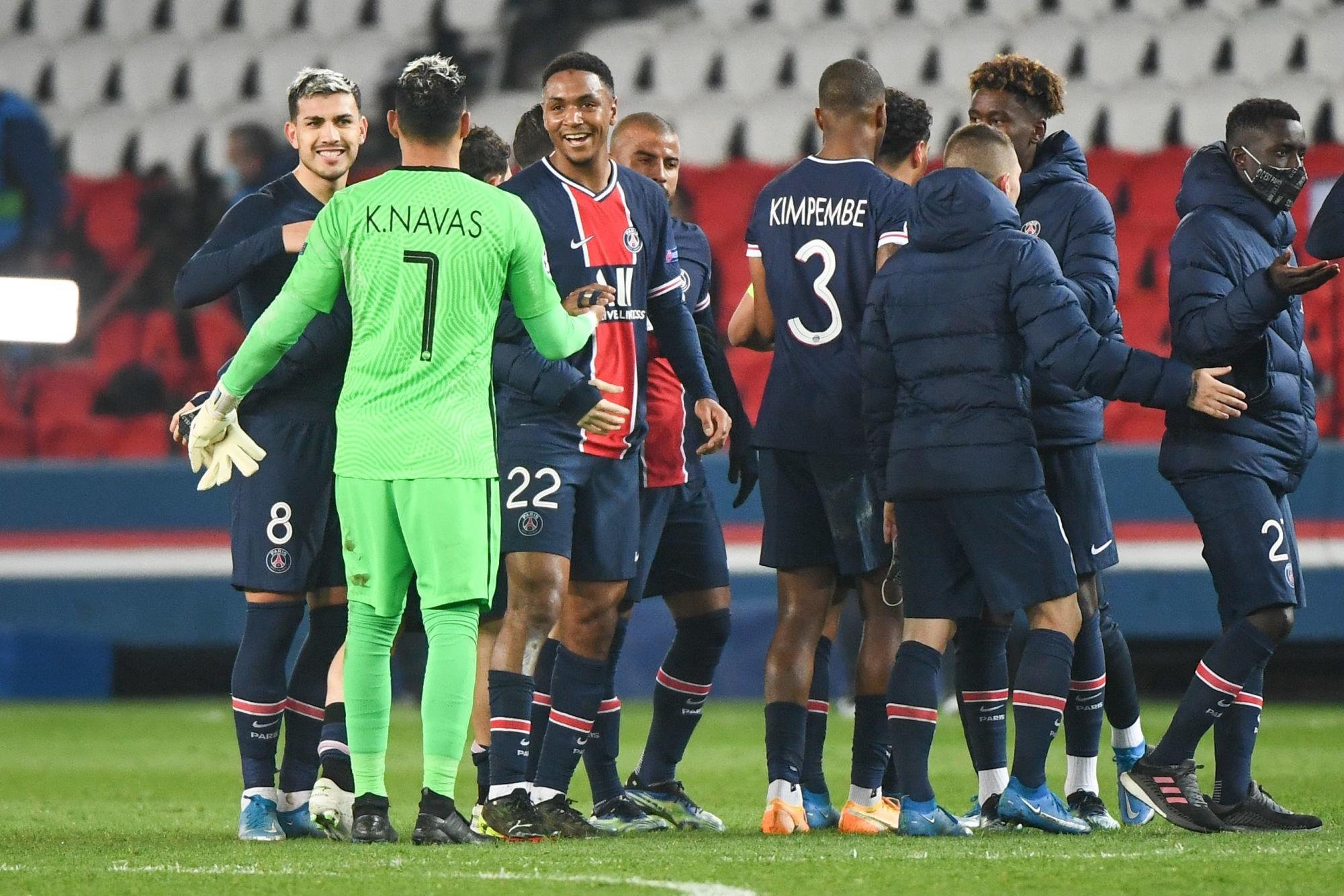 """Navas est """"très heureux"""" et évoque """"un soutien mutuel entre le PSG et les joueurs"""""""