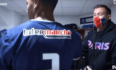 Revivez la victoire du PSG à Brest au plus près des joueurs parisiens