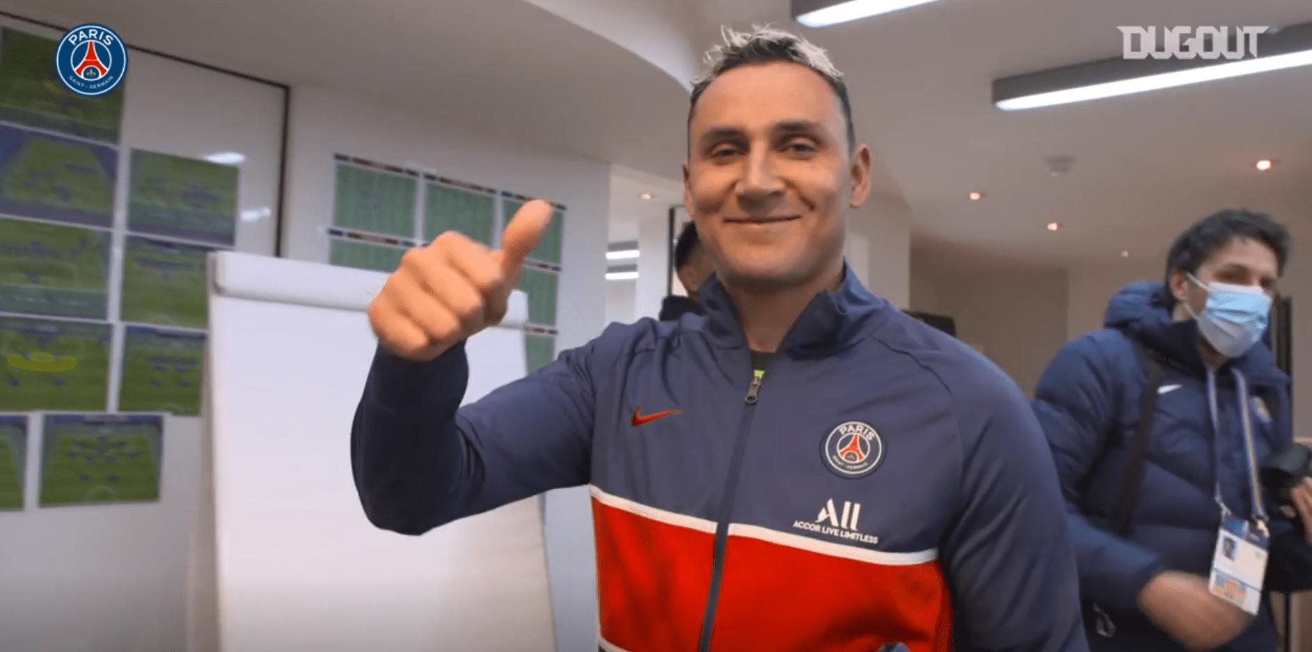 PSG/Barcelone - Revivez la qualification et la célébration au plus près des joueurs parisiens