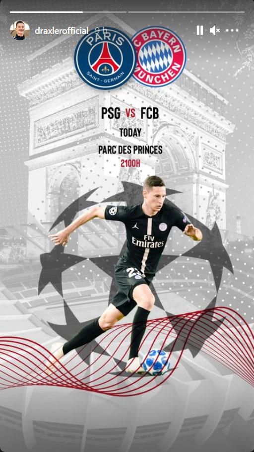 Les images du PSG ce mardi: Paris élimine le Bayern Munich !