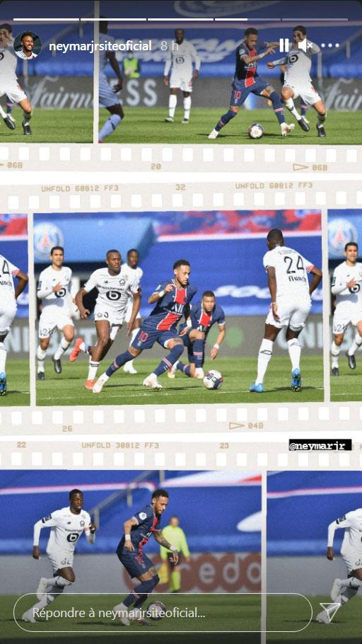 Les images du PSG ce samedi: Paris/Lille et sa défaite