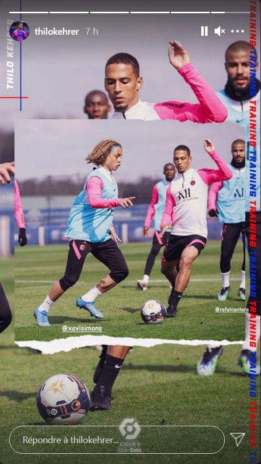 Les images du PSG ce jeudi: Entraînement et récupération
