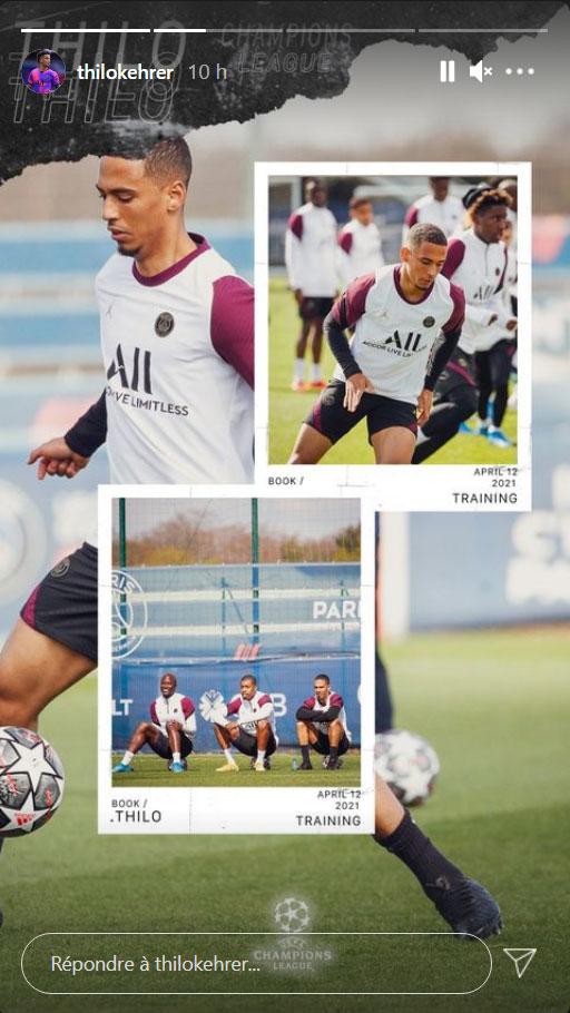 Les images du PSG ce lundi: Entraînement et conférence avant Paris/Bayern Munich