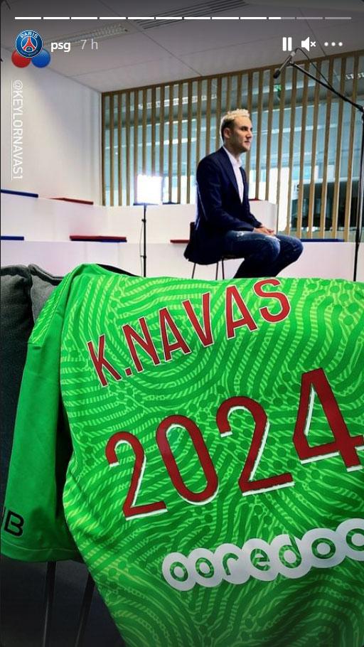 Les images du PSG ce lundi: Prolongation de Navas, entraînement et PSG Inside