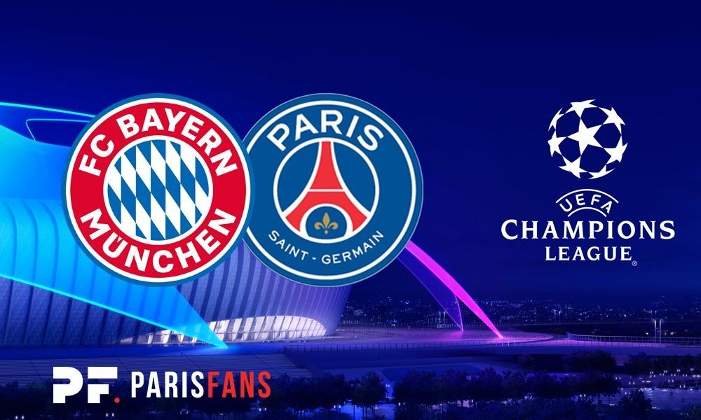 Bayern/PSG - Chaîne et heure de diffusion