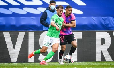 "PSG/Saint-Etienne - Bouanga retient ""la satisfaction d'avoir accroché Paris"""