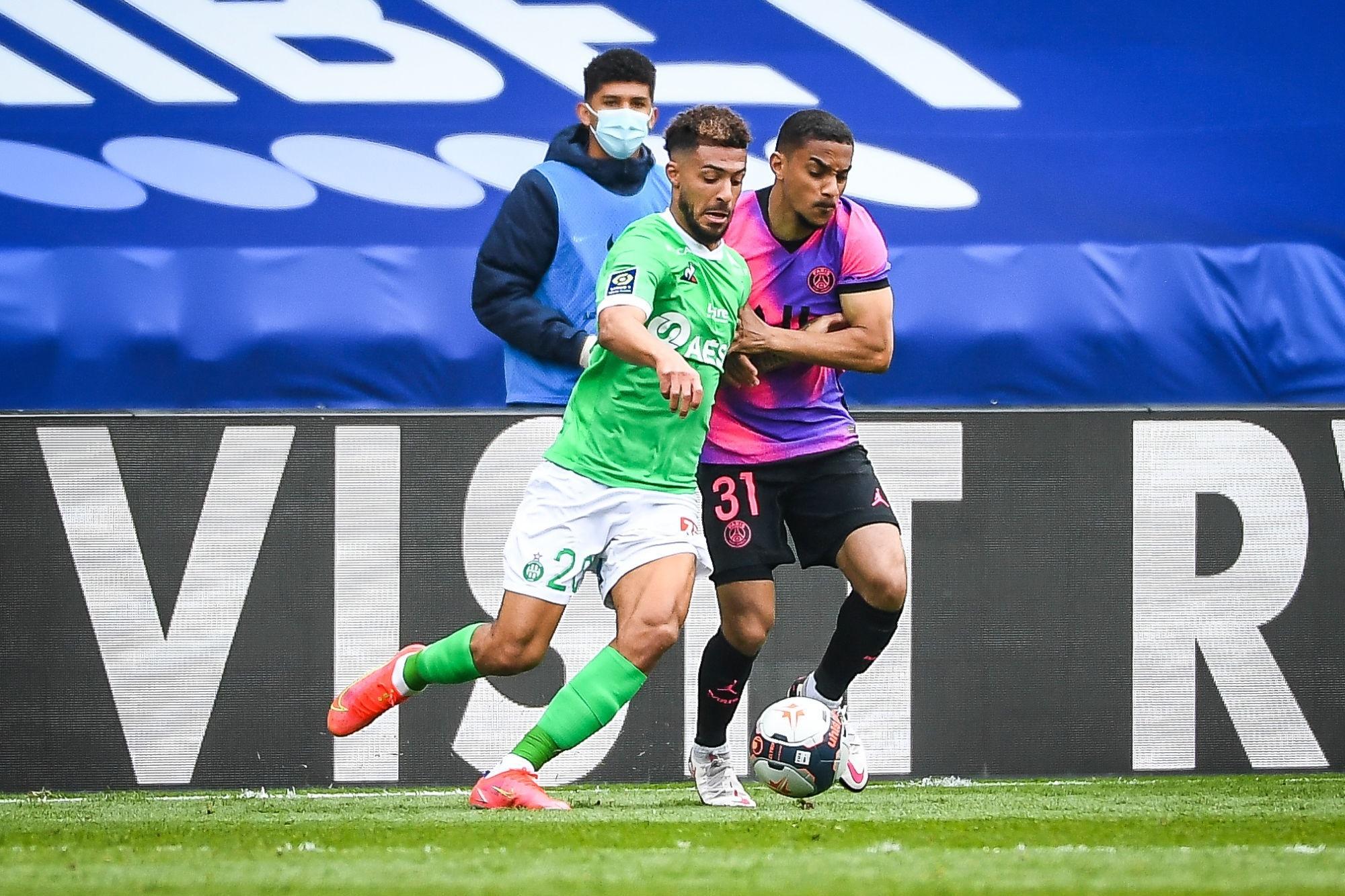 """PSG/Saint-Etienne - Bouanga retient """"la satisfaction d'avoir accroché Paris"""""""