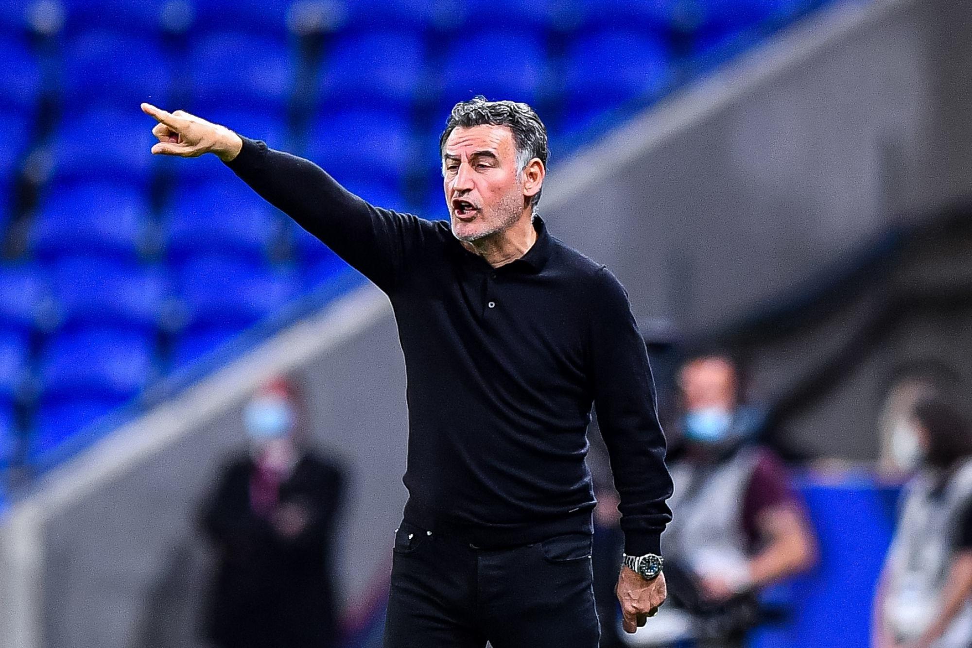 """Ligue 1 - Galtier annonce que le titre """"maintenant, c'est un objectif"""" de Lille"""