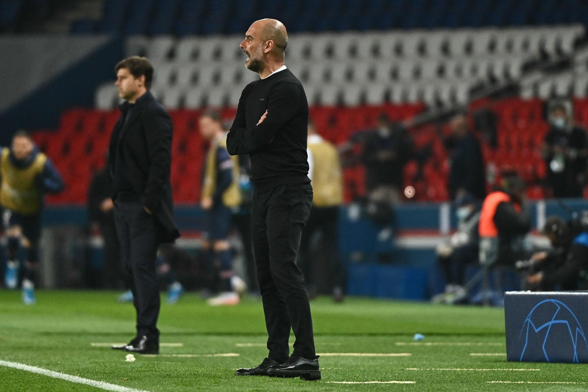 """PSG/City - Guardiola est """"très satisfait"""", mais sait que le retour sera """"difficile"""""""